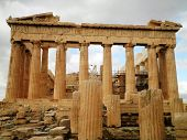 picture of parthenon  - Acropolis Parthenon greek temple Athens Greece history - JPG
