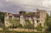 picture of hever  - Medieval Hever Castle in Kent south England - JPG