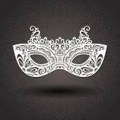 stock photo of masquerade mask  - Beautiful Masquerade Mask  - JPG