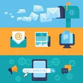 foto of spam  - Vector email marketing concepts  - JPG