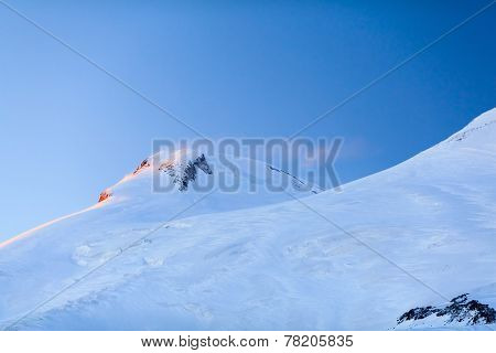 Mountains Beautiful Elbrus Landscape Russia