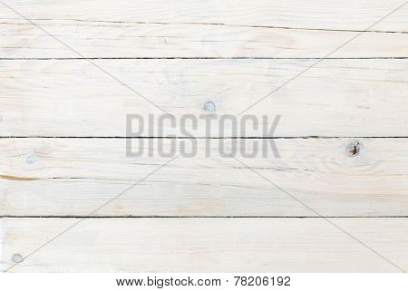 White wooden plank texture background