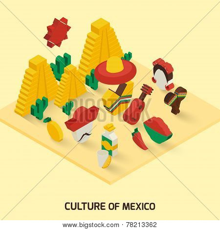 Mexican Icon Isometric