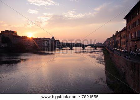 Ponte Alla Carraia In Florence