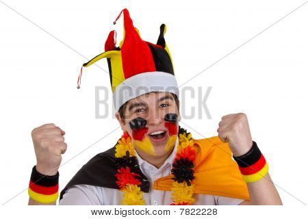 Exalted German Soccer Fan