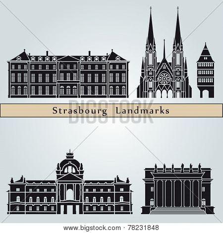 Strasbourg Landmarks And Monuments