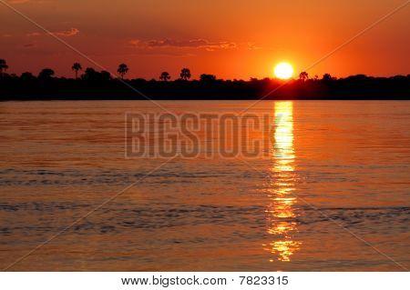 Sunset Lettering