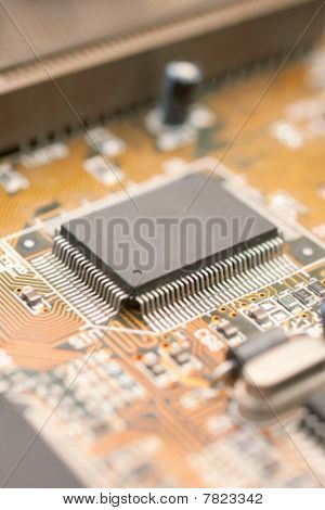 Integrated Chipset Of Computer Circuit Board