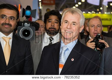 MOSCOW, RUSSIA, JUNE, 16: Renato Bertani, President of the World Petroleum Council. 21st WPC, June, 16, 2014 at Crocus Expo  in Moscow, Russia
