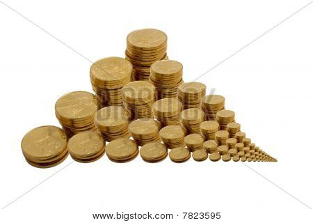 The Scattered Yellow Coins