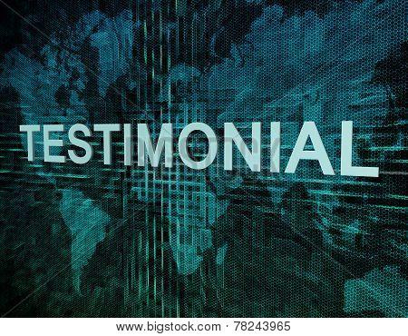 Testimonial Technology Background