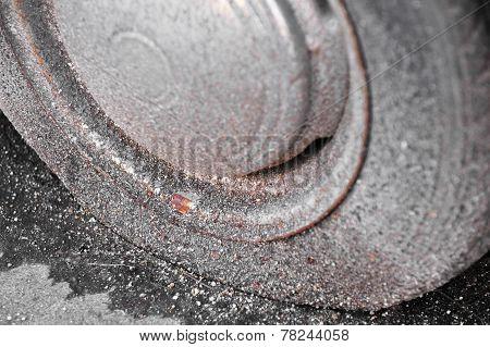 Rusty Flat Tire