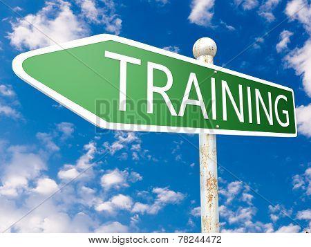 Training Arrow Sign