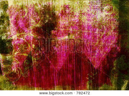 pink grunge