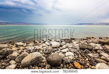 Sea Of Galilee Landscape