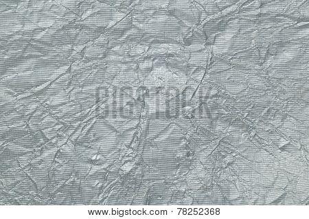 silver aluminum foil background
