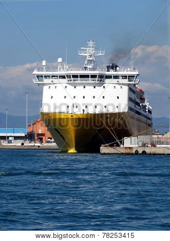 Prow View Italian Ferry