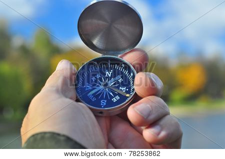 Compass And Hand.