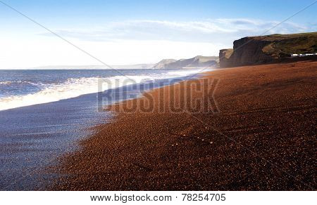 uk coastline freshwater beach dorset