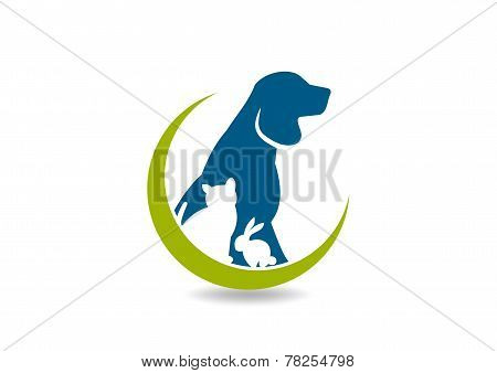 pet vector logo,