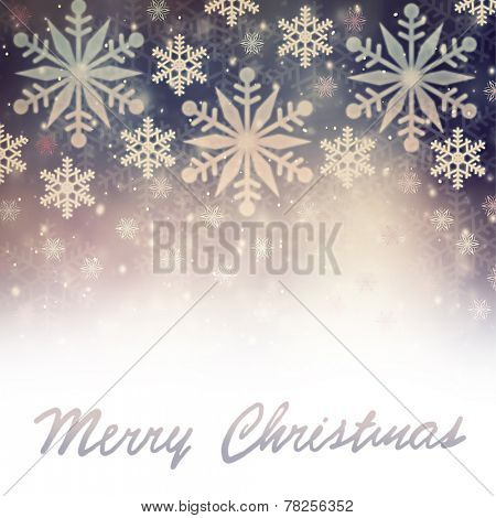 Merry Christmas greeting card, beautiful vintage snowflakes border on white background with text space, beautiful festive decoration