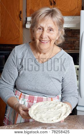 Grandma Making Meat Pies