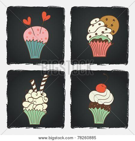 Doodle Cupcakes.