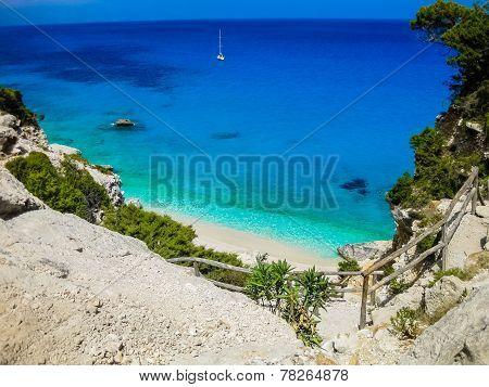 Cala Goloritzé beach, Sardinia, Italy
