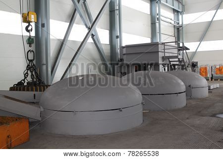 Capacity For Heat Treatment Of Metal