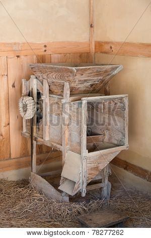 Old Rice Milling Machine