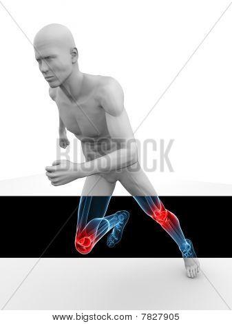 3d model - jogger