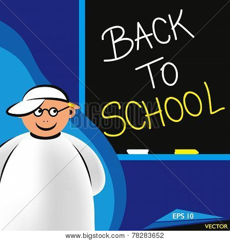 Arabian Family - Back To School Kid