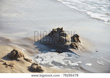 Sea Water, Sand