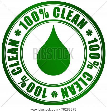 Clean product symbol