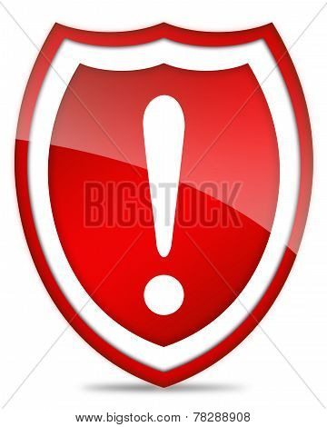 Danger security icon