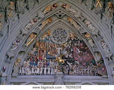 Bern Minster portal: Last Judgement