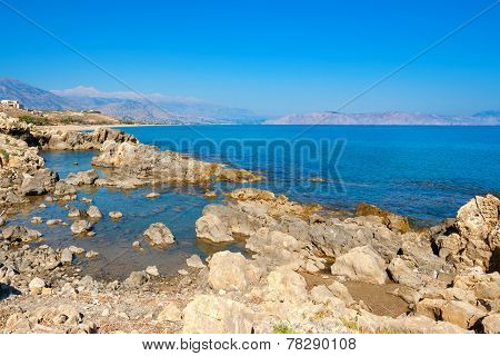 Coastline. Crete, Greece