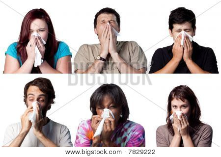 Sneezing People