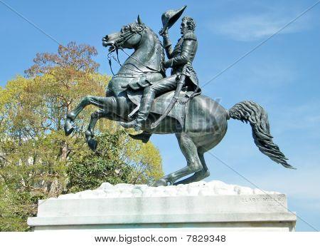 Washington Lafayette Park Andrew Jackson Monument 2010
