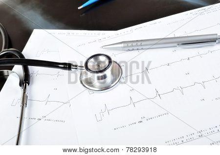 Stethoscope On  Printout