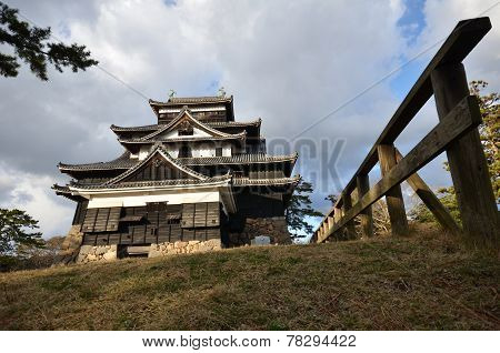 A View Of  Matsue Castle In Matsue