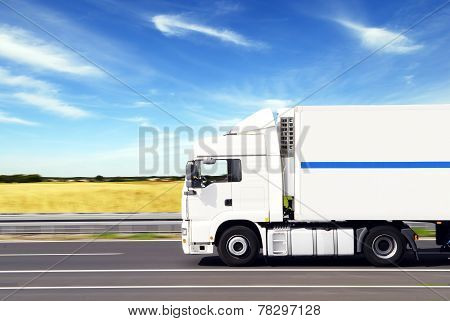 Truck With Freight