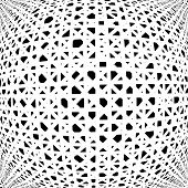picture of uncolored  - Design uncolored abstract pattern - JPG