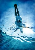 picture of undersea  - Woman - JPG