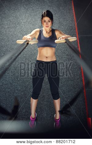 Workout on ring