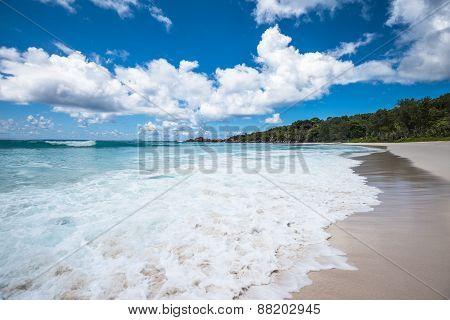 Anse Coco Tropical Beach, La Digue Island, Seychelles