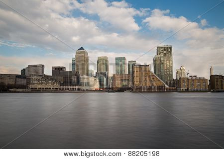 Canary Wharf During The Day