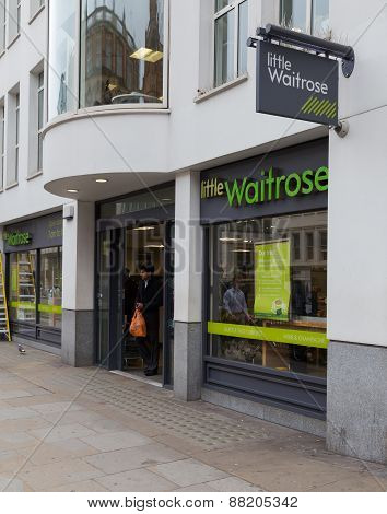 Little Waitrose Store In London