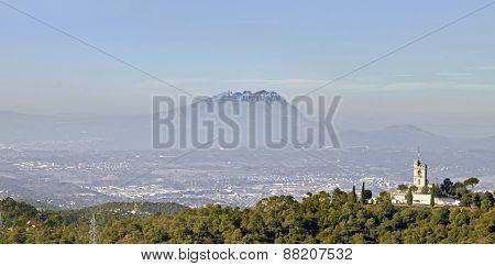 Landscape With Montserrat Mountain