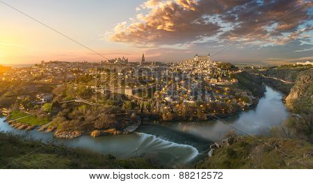 Amazing view of Toledo, Spain
